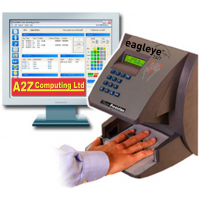 February 2013: Biometric Clocking In System