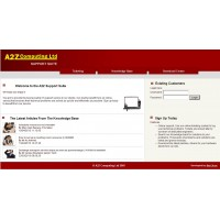 April 2008: New A2Z Computing Support Suite goes LIVE!