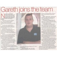 July 2011: Gareth Joins the Team