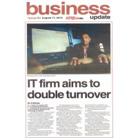 August 2010: IT Firm Aims to Double Turnover